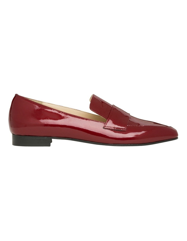 Yuana Deep Red Patent Leather Loafer image 1