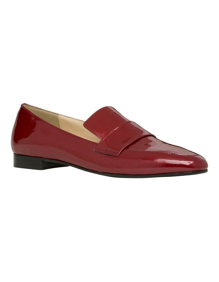 Yuana Deep Red Patent Leather Loafer image 2
