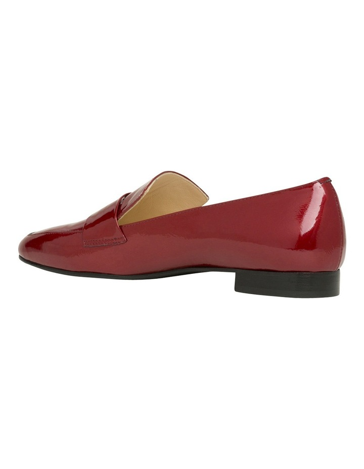 Yuana Deep Red Patent Leather Loafer image 3