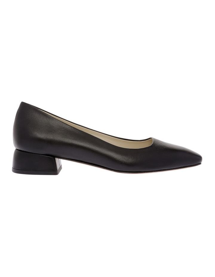 Nicola Black Flat Shoe image 1