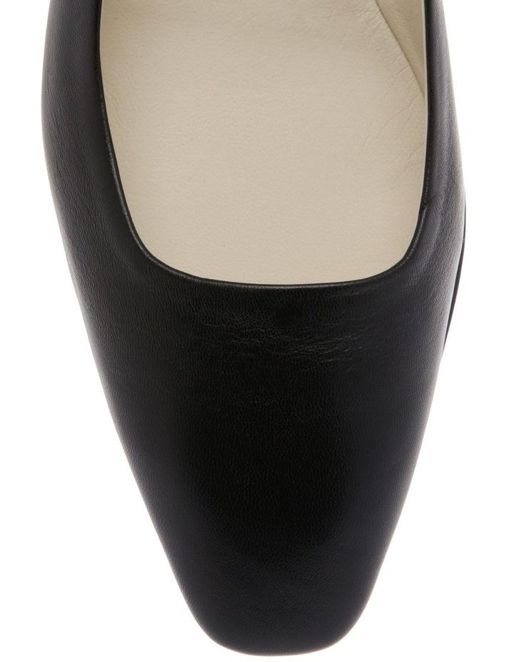 Nicola Black Flat Shoe image 3