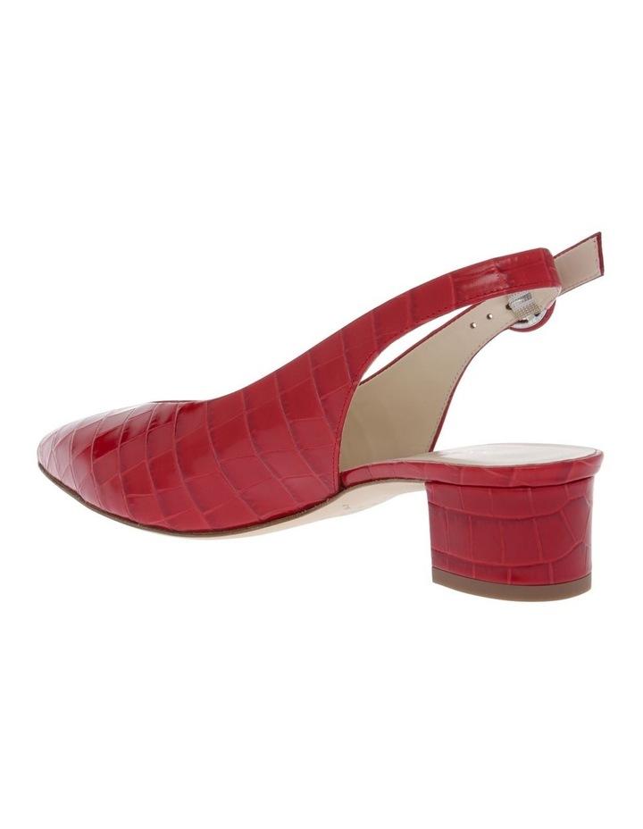Milena Red Heeled Shoe image 2
