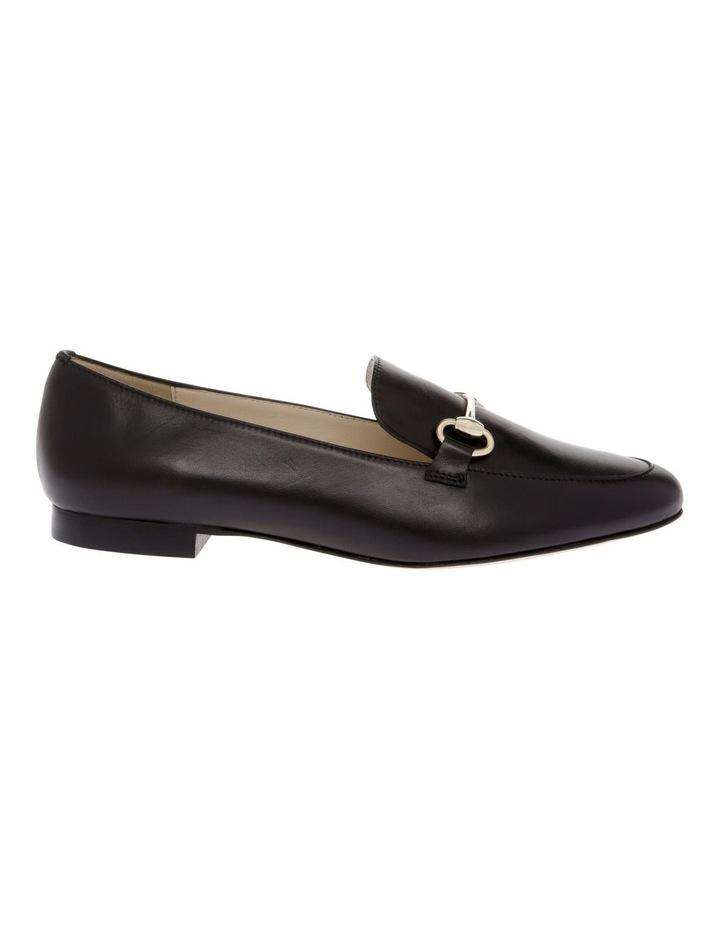Sienna Black Flat Shoe image 1