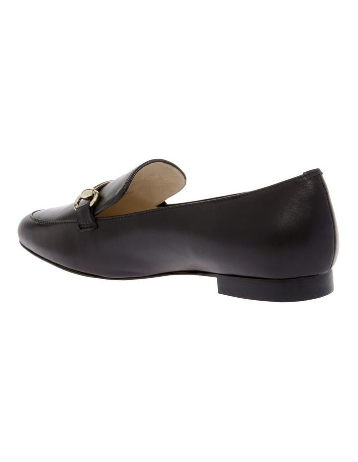 Sienna Black Flat Shoe image 2
