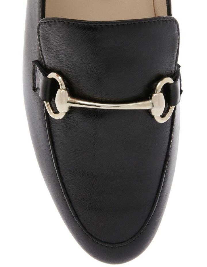 Sienna Black Flat Shoe image 3