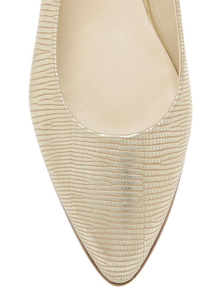 Cora Gold Flat Shoes image 2