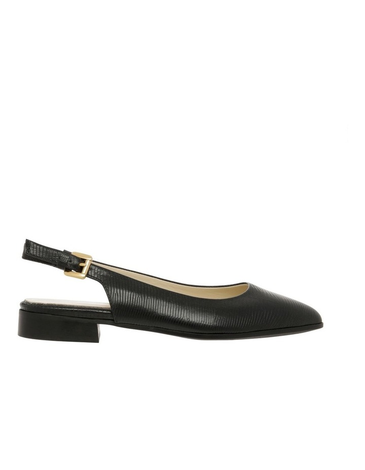 Cora Black Flat Shoes image 1
