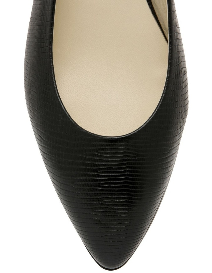 Cora Black Flat Shoes image 2