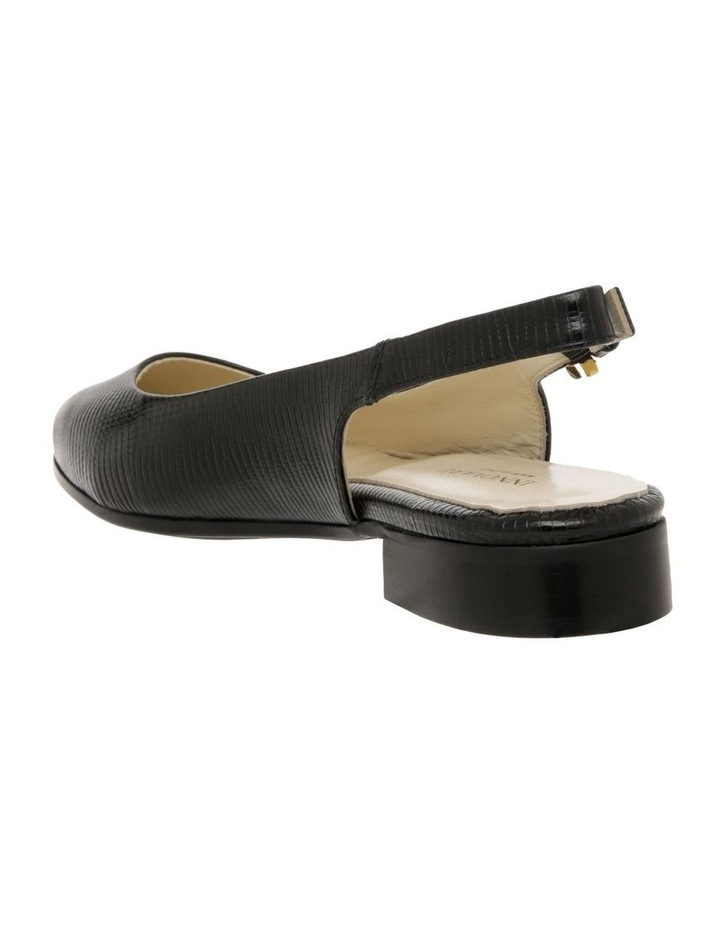 Cora Black Flat Shoes image 3