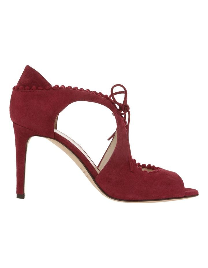Portia Bordeaux Suede Sandal image 1