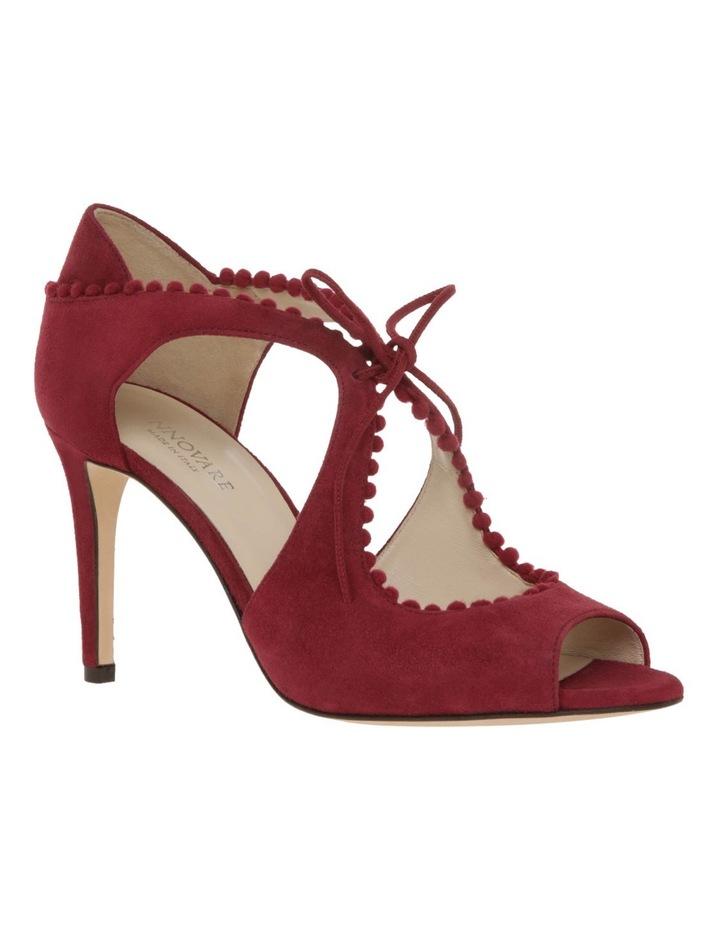 Portia Bordeaux Suede Sandal image 2