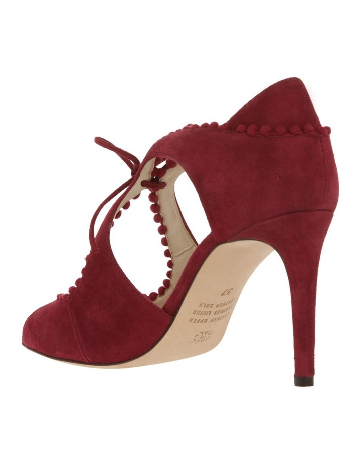 4f162ddd209 Innovare Made in Italy Portia Bordeaux Suede Sandal