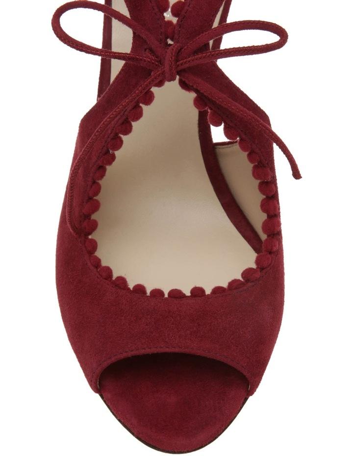Portia Bordeaux Suede Sandal image 4