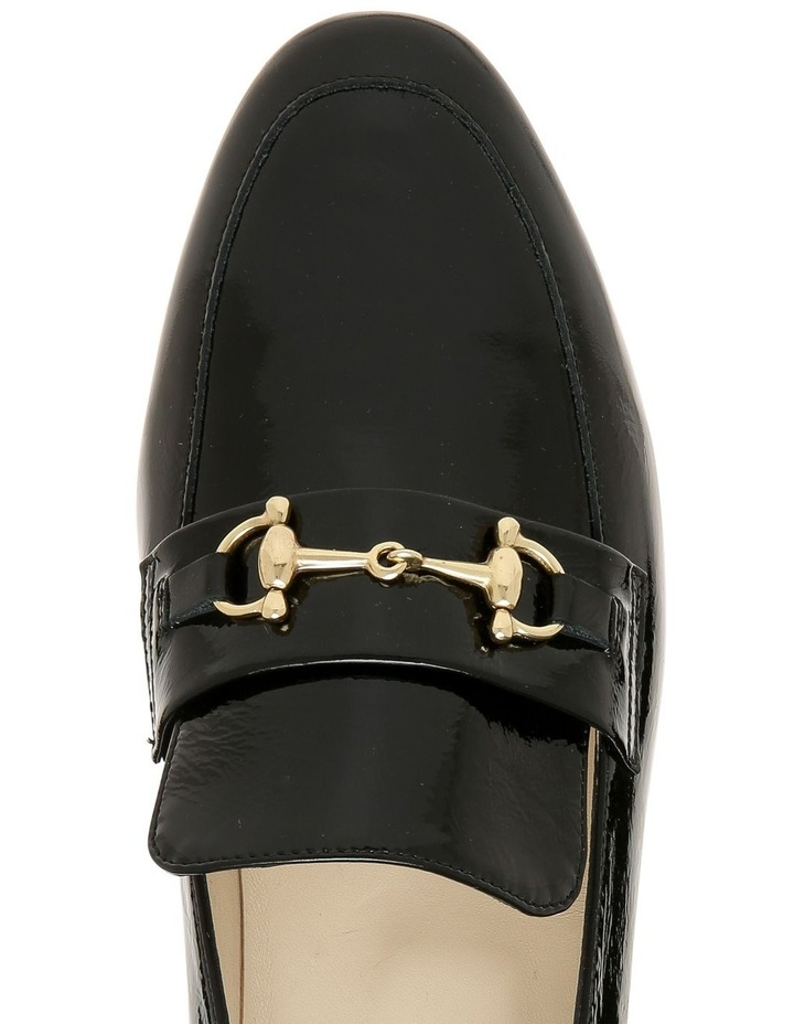 Sandra Black Patent Loafer image 3