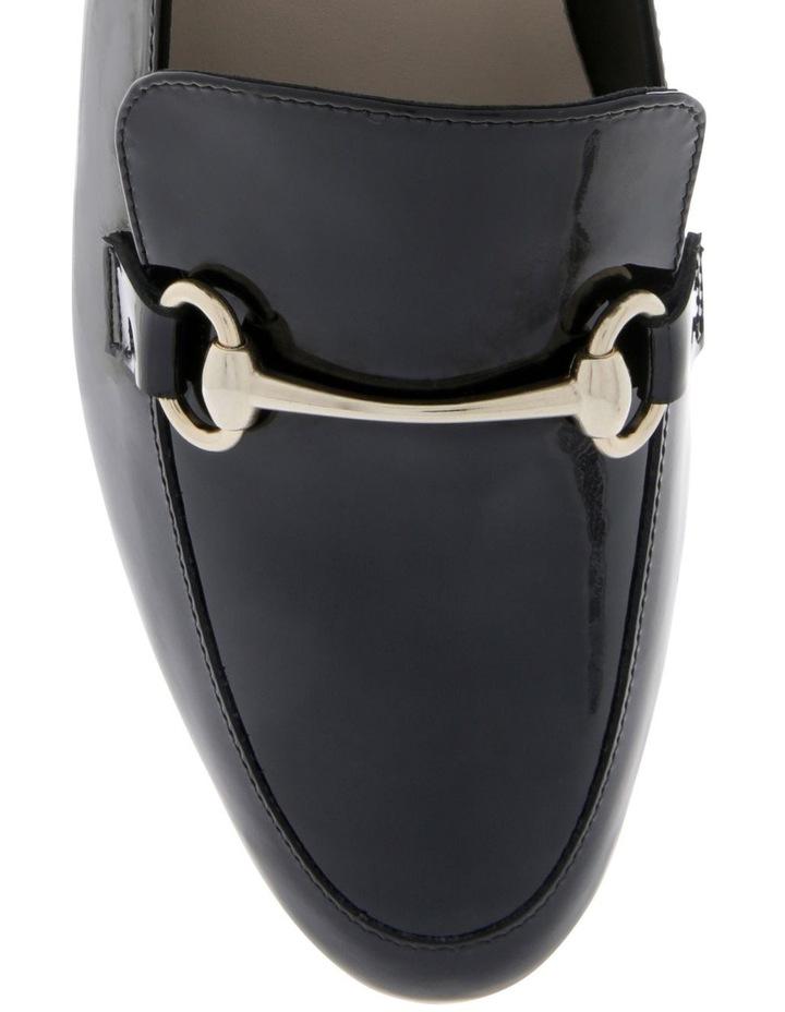 Teresa Black Patent Flat Shoe image 3