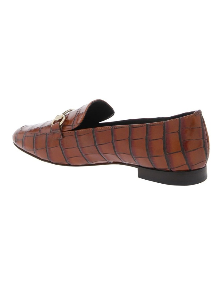 Tabitha Tan Croc Print Flat Shoe image 2