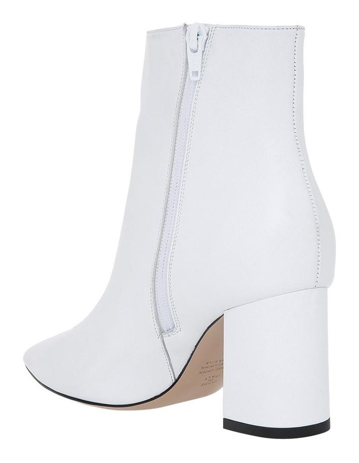 White Nappa Boot image 2