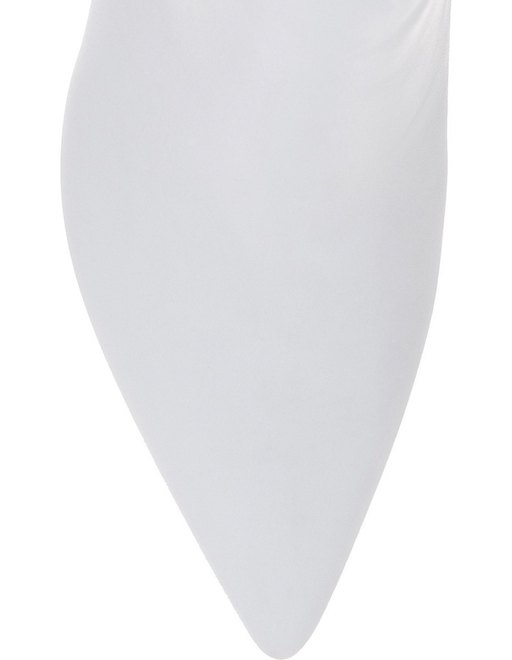 White Nappa Boot image 3
