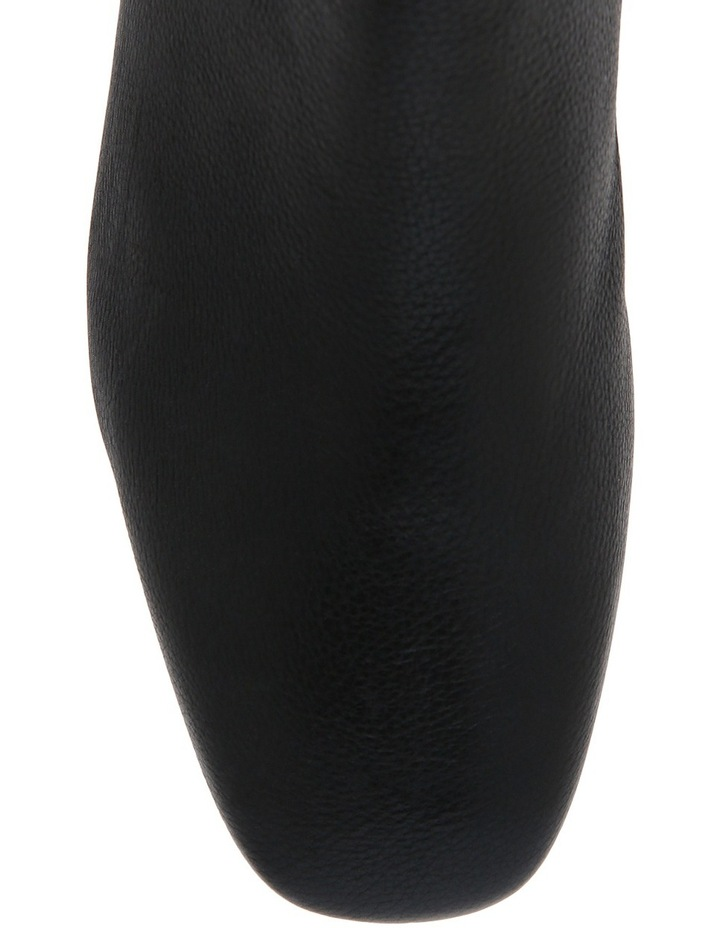Stevie Black Calf Leather Boot image 3