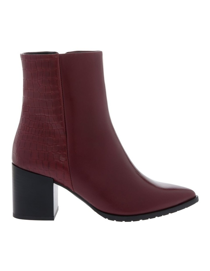 Alyssa Burgundy Boot image 1