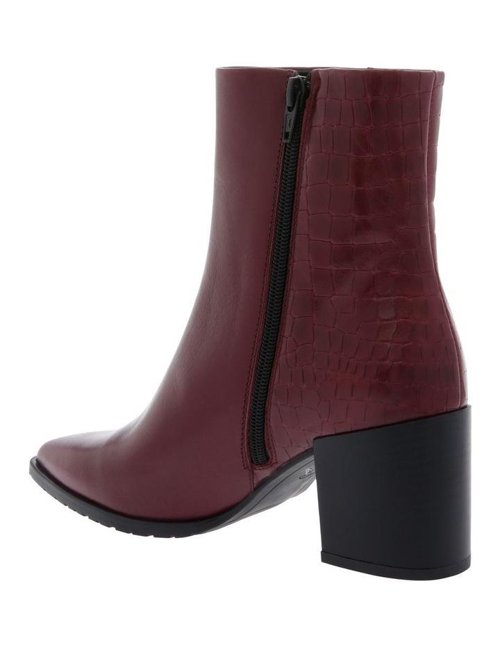 Alyssa Burgundy Boot image 2
