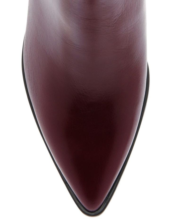 Alyssa Burgundy Boot image 3
