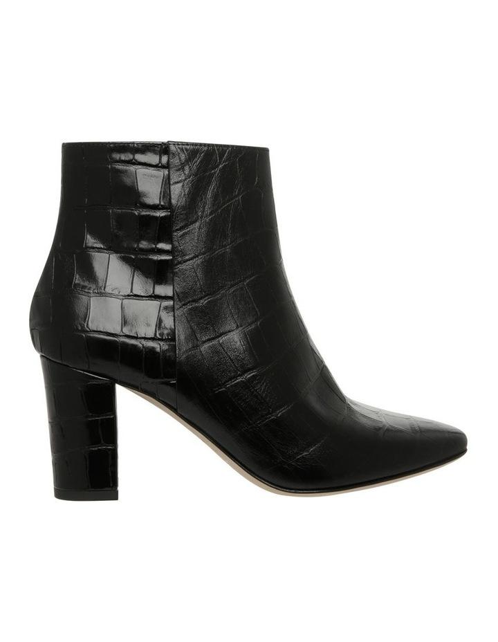 Melody Black Croc Print Boot image 1