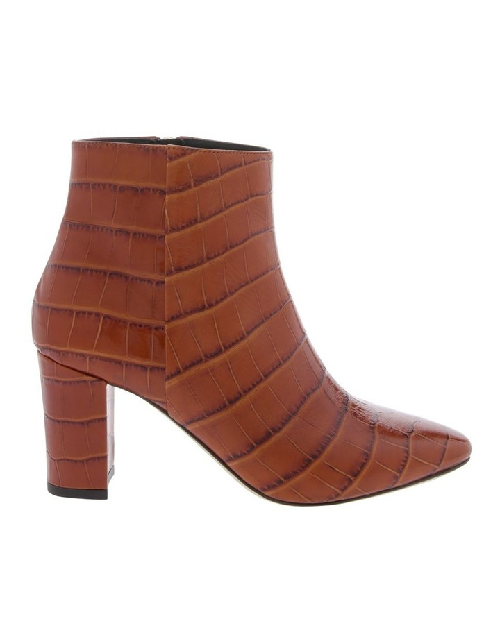Melody Tan Croc Print Boot image 1