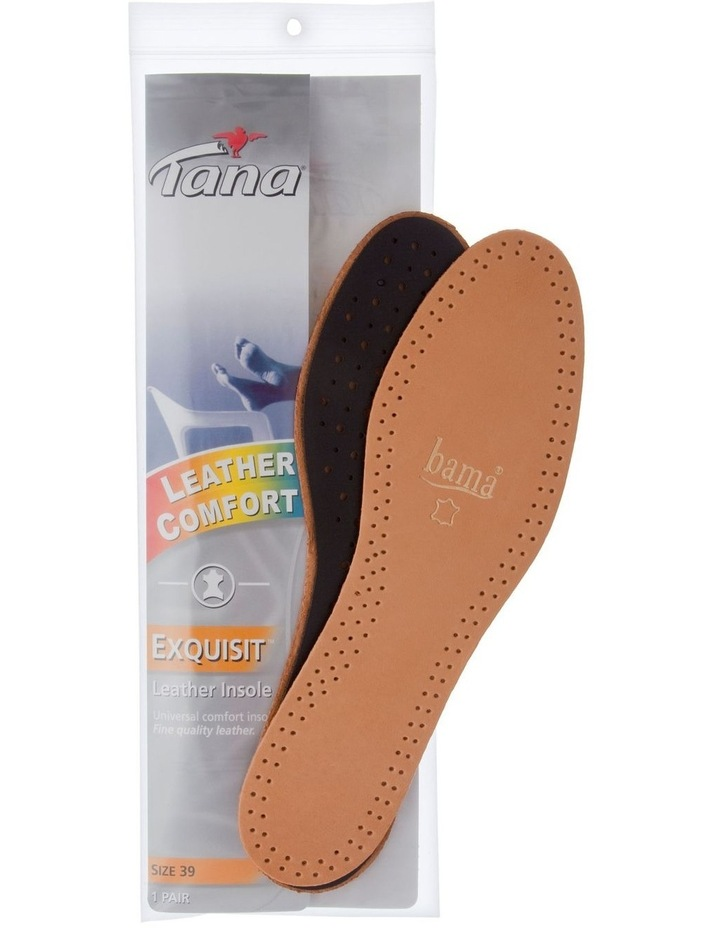 Exquisit Leather Insole Size 39 image 1