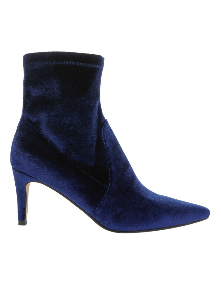 d69041e2af7ce Leona By Leona Edmiston | Maldo Navy Stretch Velvet Boot | MYER