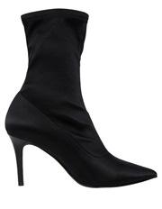 Brody Black Satin Boot