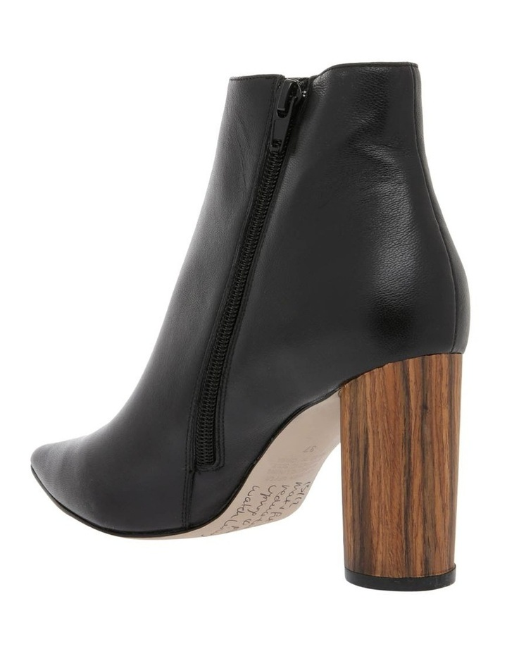 Molly Black Leather Boot image 2