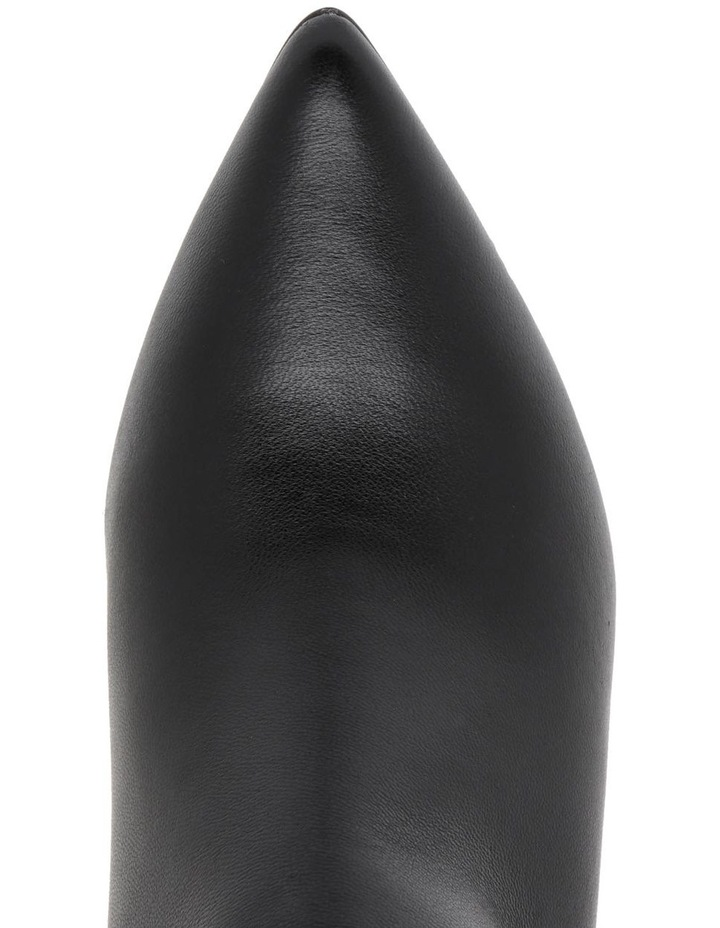 Molly Black Leather Boot image 3
