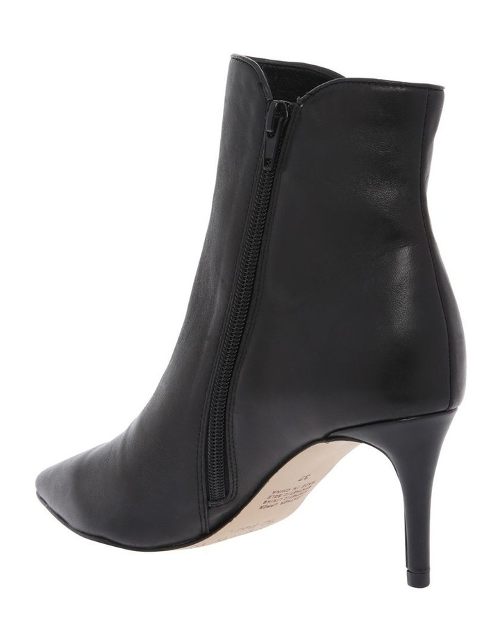 Belgravia Black Leather Boot image 2