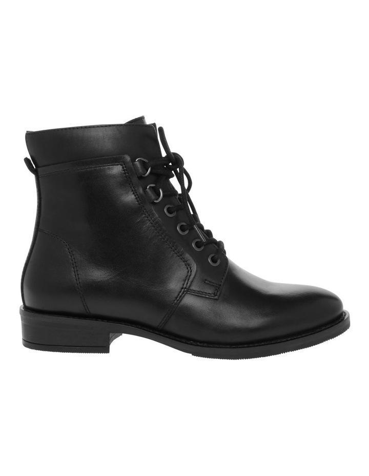 Anika Black Leather Boot image 1