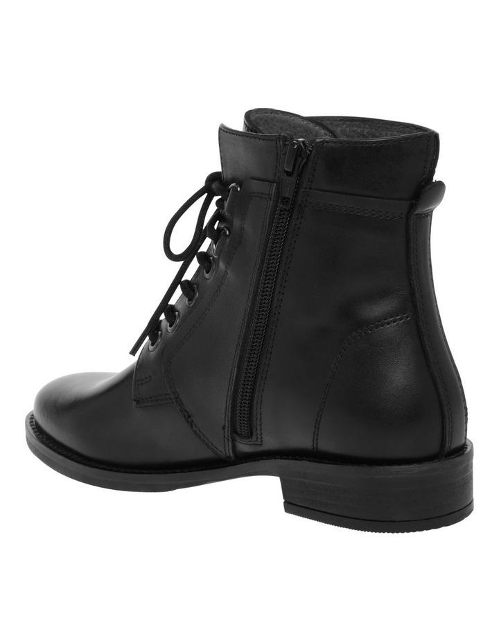 Anika Black Leather Boot image 2