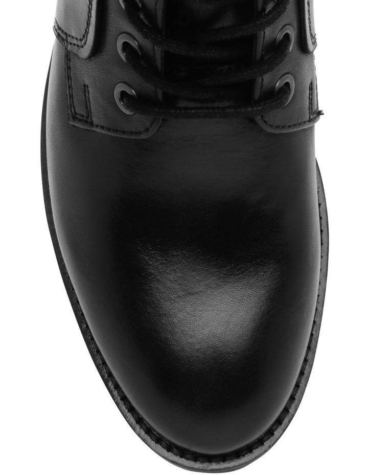 Anika Black Leather Boot image 3