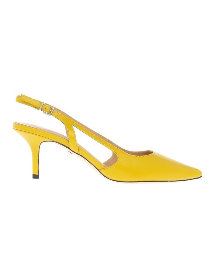 Cleo Sunflower Leather Heeled Shoe image 1