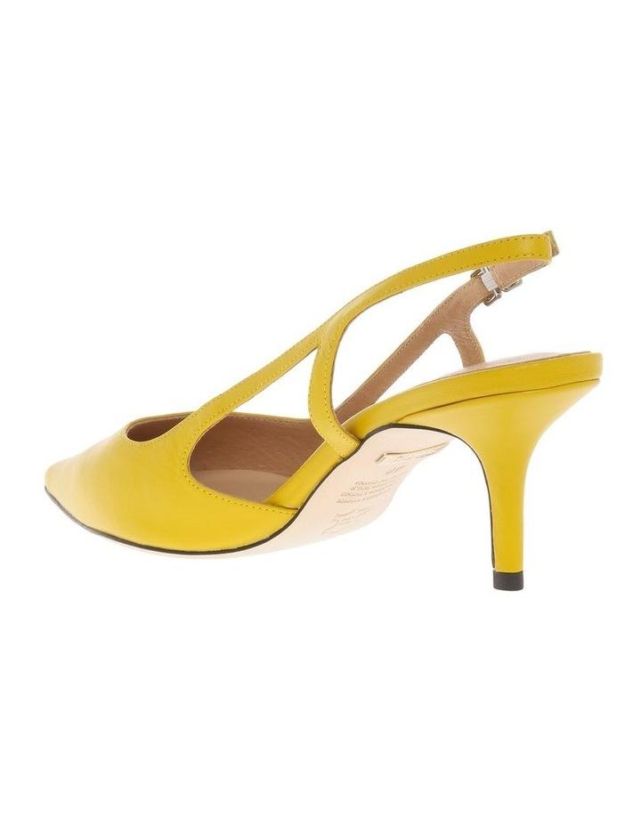 Cleo Sunflower Leather Heeled Shoe image 2