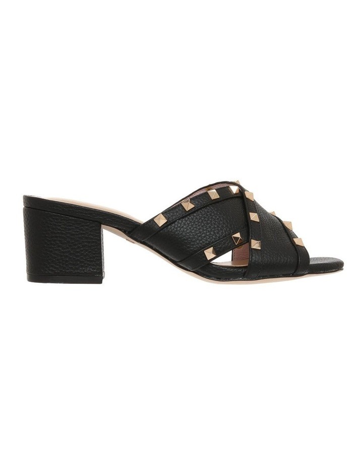 Gina Black Leather Sandal image 1