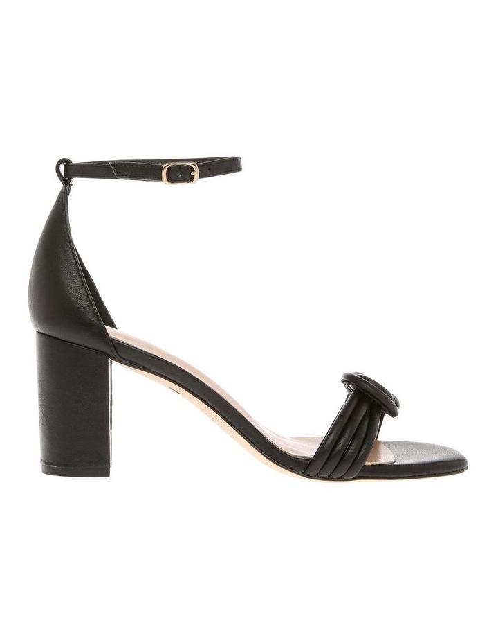 Karie Black Leather Sandal image 1