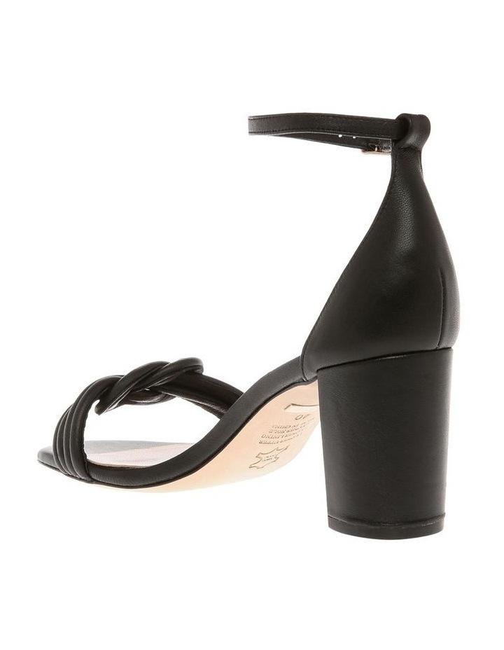 Karie Black Leather Sandal image 3