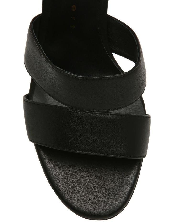 Ondine Black Leather Sandal image 3
