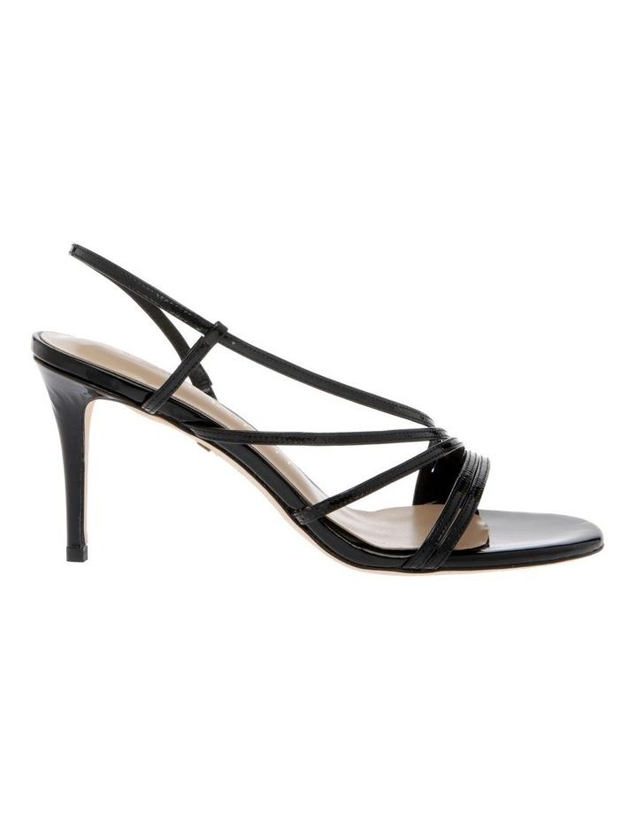 Onyx Black Patent Sandal image 1