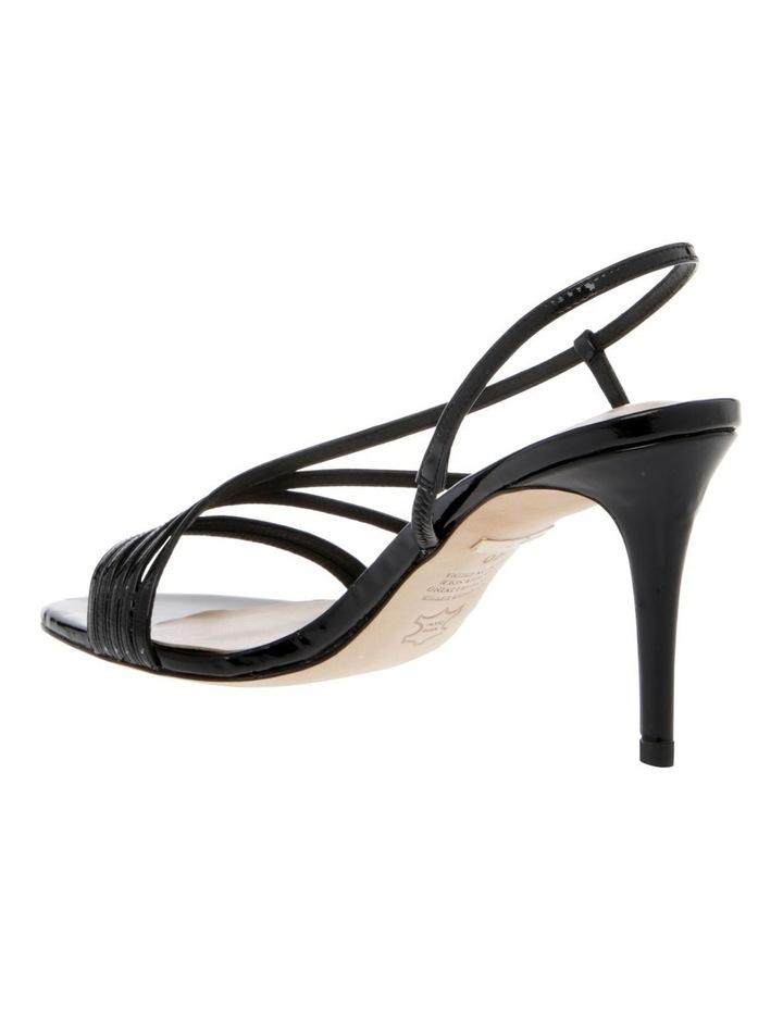 Onyx Black Patent Sandal image 2