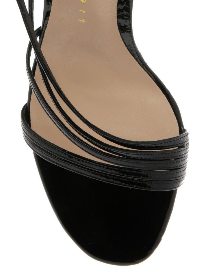 Onyx Black Patent Sandal image 3