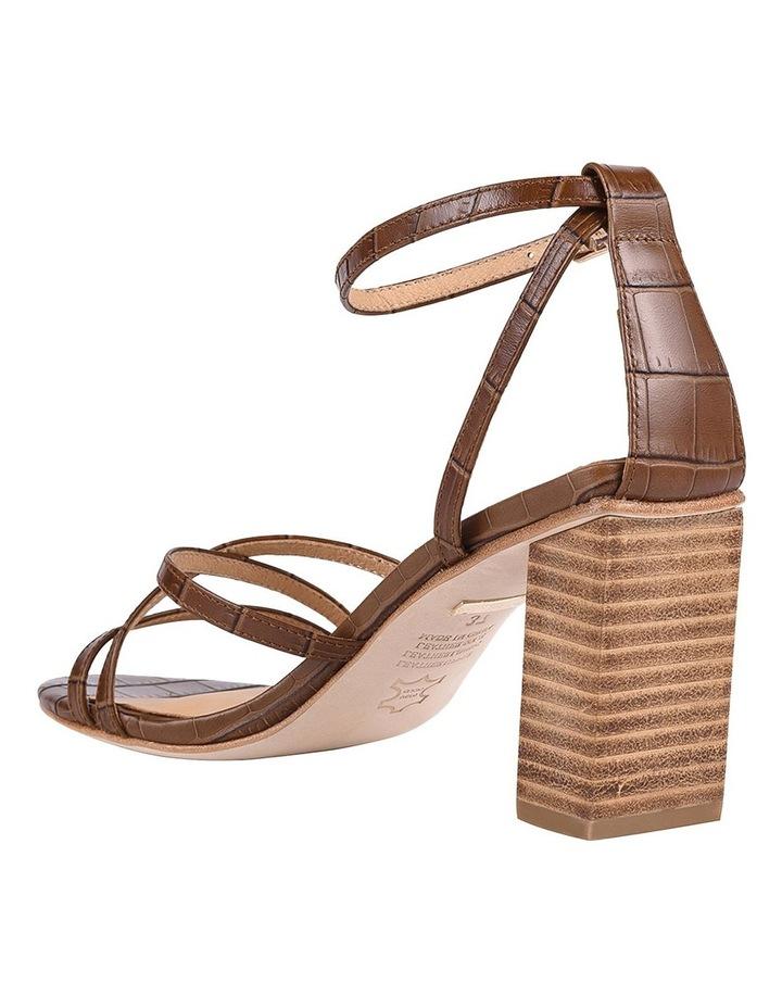 Helen Tan Croc Emboss Sandal image 3