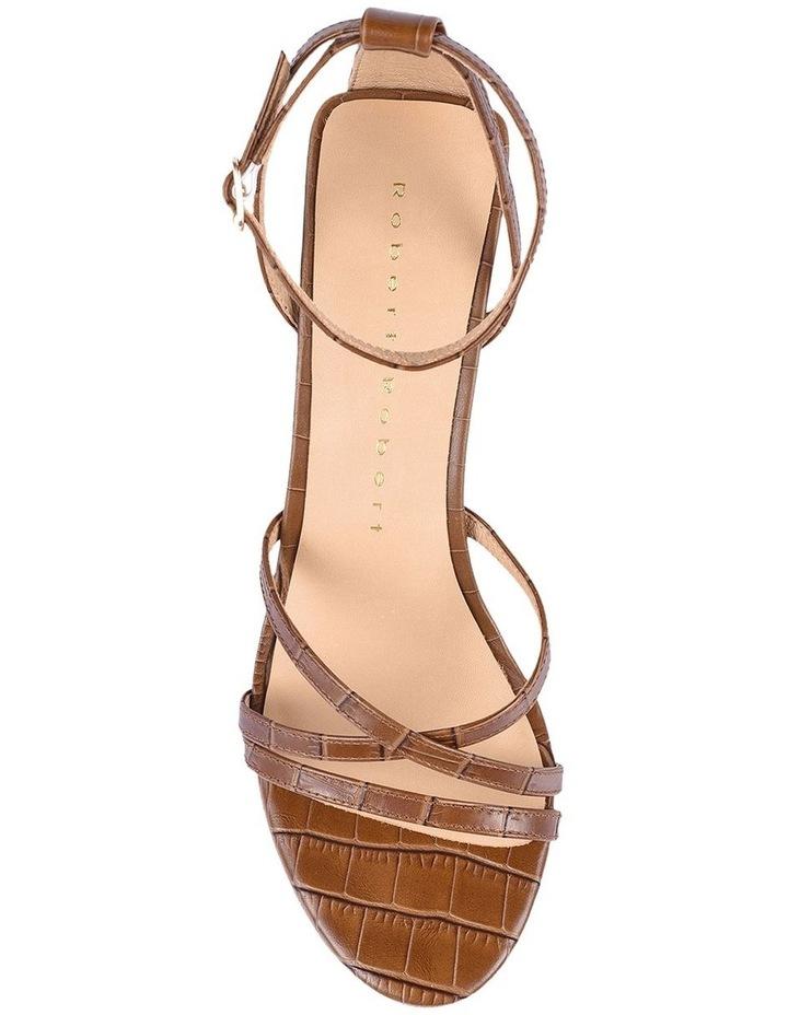 Helen Tan Croc Emboss Sandal image 4