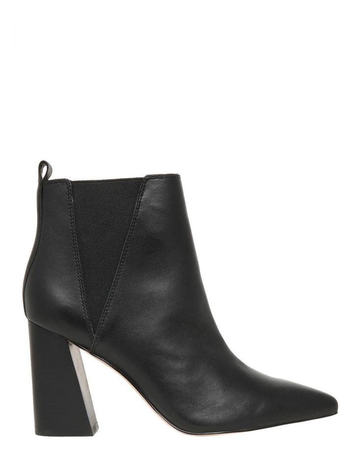 95a4c1a46a6 Nude Footwear Suki Black Leather Boot