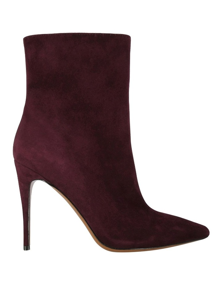 Mae Burgundy Suede Boot image 1
